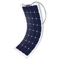 ACOPOWER100 Watt 12 Volt Flexible Monocrystalline Solar Panel