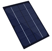 Xinpuguang Solar Panel 4W 6V DIY Mini 210*135*2mm Monocrystalline Module for Kit Battery Toy Pump Motor Outdoor Power Charger