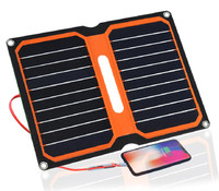 Xinpuguang solar charger 5V 10W ETFE high efficiency portable solar charger Aurinkopaneeli solar panel camping outdoor use